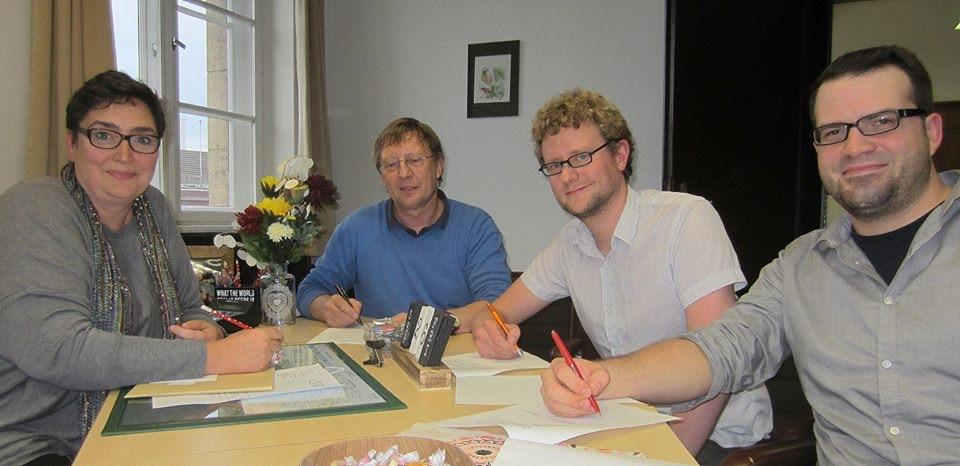 Rot-Grün+ in Bochum-Mitte unterschreibt Koa-Vereinbarung