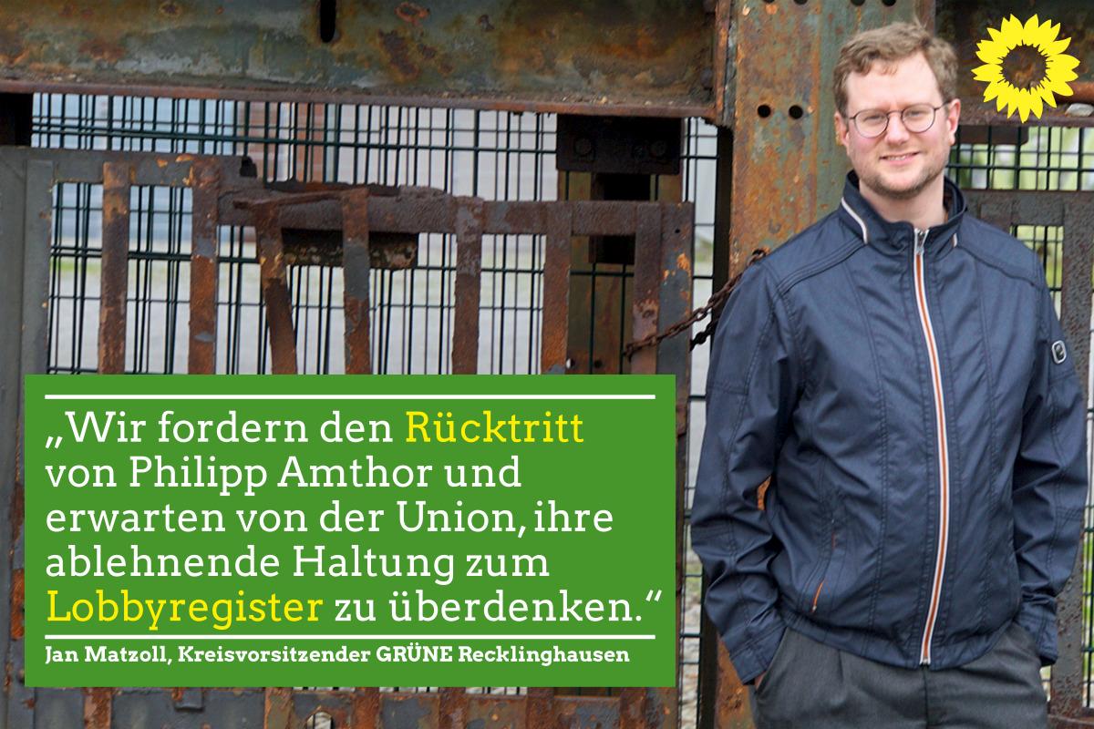 Amthor: Grüne fordern Rücktritt
