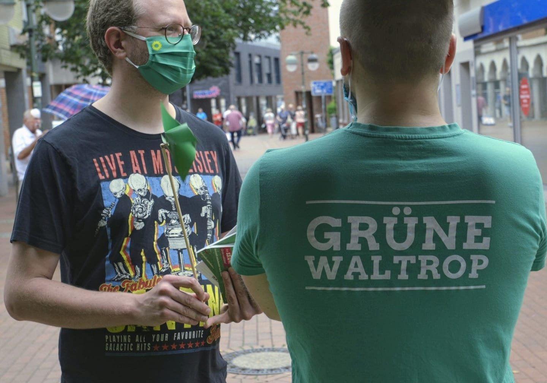 Straßenwahlkampf trotz Corona